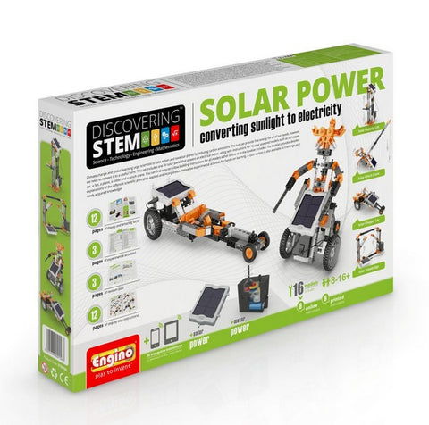 Engino Solar Power - Wild Willy - Toys Lebanon