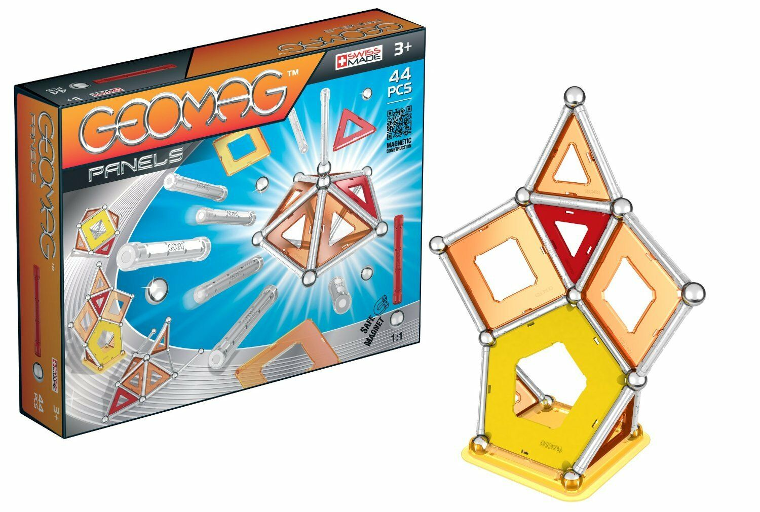 GEOMAG PANELS 44PCS 3Y+ ( GM451 ) - Wild Willy - Toys Lebanon
