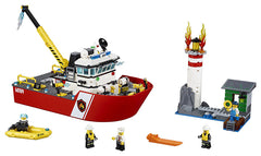 Lego city Fire Boat - Wild Willy
