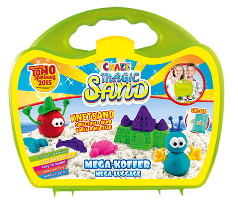 CRAZE MAGIC SAND MEGA BOX MODELING SAND - Wild Willy - Toys Lebanon