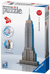 Ravensburger 3D PUZZLE  EMPIRE STATE BLDG - Wild Willy