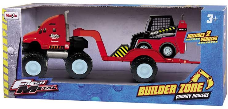 MS BUILDER ZONE QUARRY HAULERS - Wild Willy - Toys Lebanon
