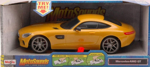 MS 1:24 MOTOSOUNDS MERCEDES AMG GT 1:24 - Wild Willy - Toys Lebanon