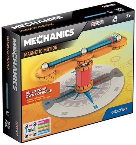 GEOMAG MECHANICS MAGNETIC MOTION COMPASS 35PCS GM770 - Wild Willy - Toys Lebanon