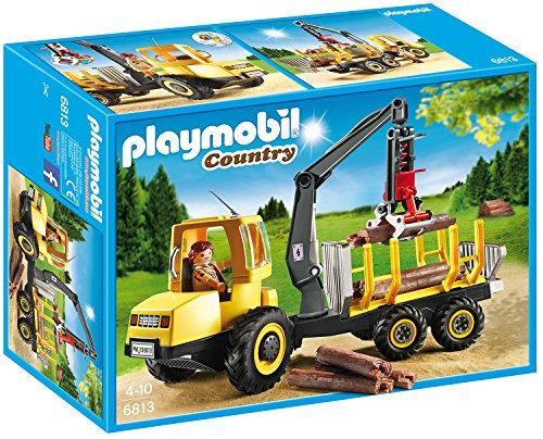 PM COUNTRY TIMBER TRANSPORTER 4-10 (PM6813) - Wild Willy - Toys Lebanon