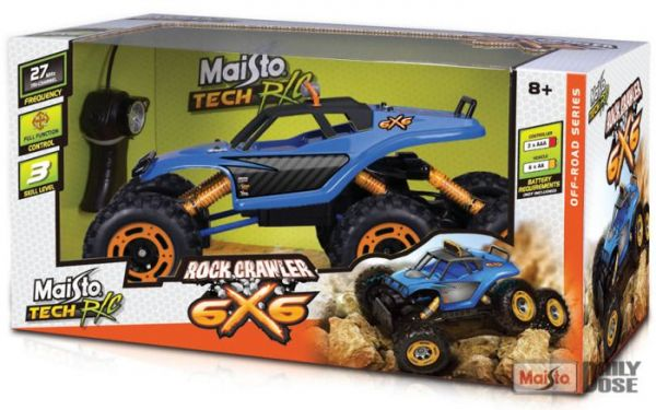 Maisto RC ROCK CRAWLER XXXL 6X6