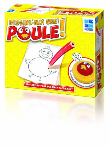Dessine-Moi Une Poule ! - Wild Willy - Toys Lebanon
