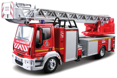 Bburago Iveco Magirus 150E 28 Ladderwagen N.L. scale 1:50 - Wild Willy