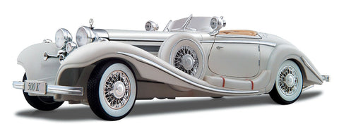 Maisto Mercedes Benz 500 KS White - Wild Willy