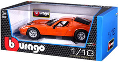 BU LAMBORGHINI MIURA 68 ORANGE ( BU12072 ) 1:18 - Wild Willy - Toys Lebanon