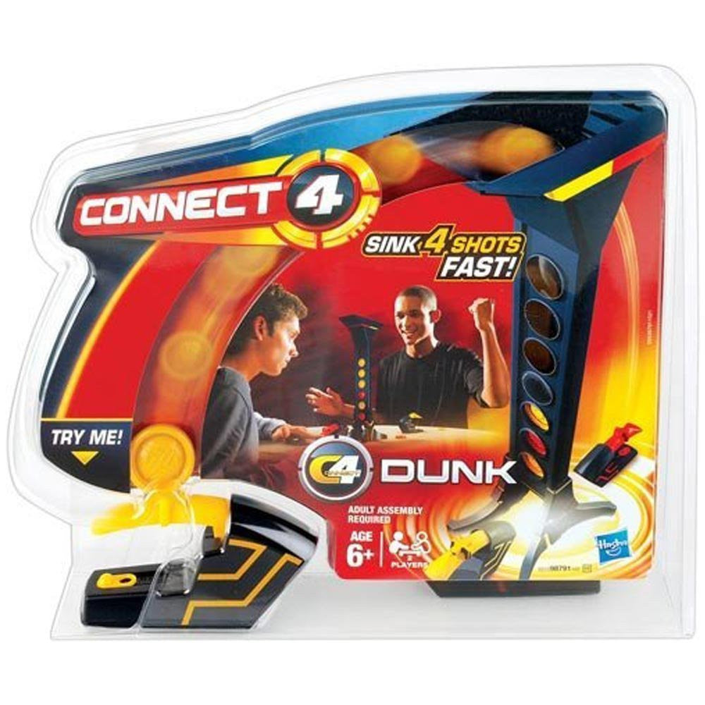 Hasbro Connect 4 Dunk Game - Wild Willy - Toys Lebanon