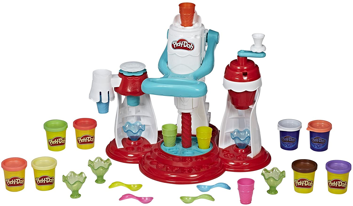 Play Doh Ultimate Swirl Ice Cream Maker (Ages 3+) - Wild Willy - Toys Lebanon