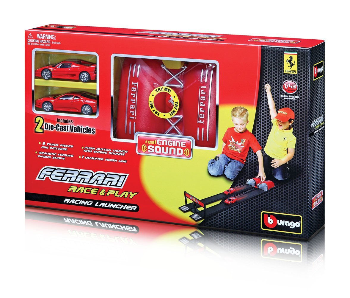 Bburago Ferrari Racing Launcher - Wild Willy