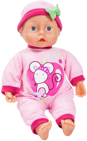 Bayer FIRST WORD BABY 24FN 33CM 10M+ 93363AB - Wild Willy - Toys Lebanon