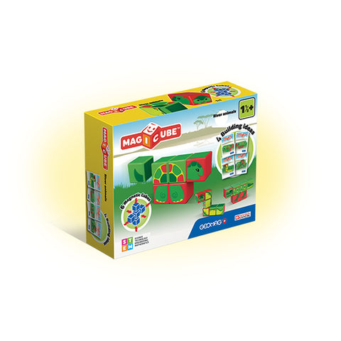 Geomag MAGICUBE RIVER TURTLE GM125 - Wild Willy - Toys Lebanon