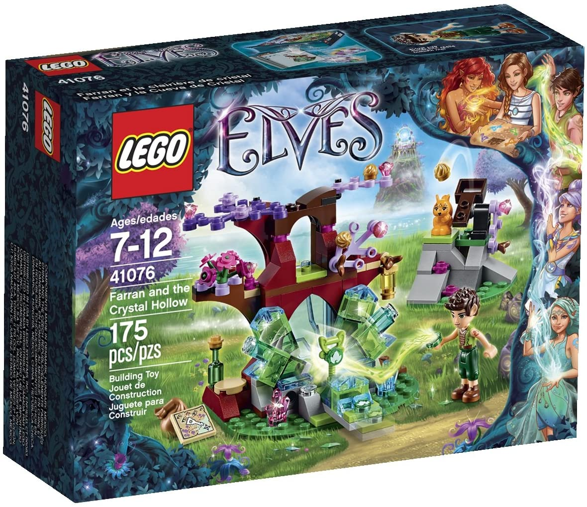 LG ELVES FARRAN & THE CRYSTAL HOLLOW 7-12Y LG41076 - Wild Willy - Toys Lebanon