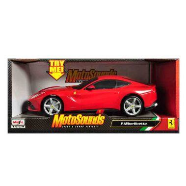 MS 1:24 MOTOSOUNDS FERRARI F12 - Wild Willy - Toys Lebanon