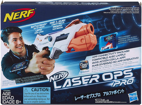 HB NERF LASER OPS PRO ALPHAPOINT 8+ E2280 - Wild Willy - Toys Lebanon