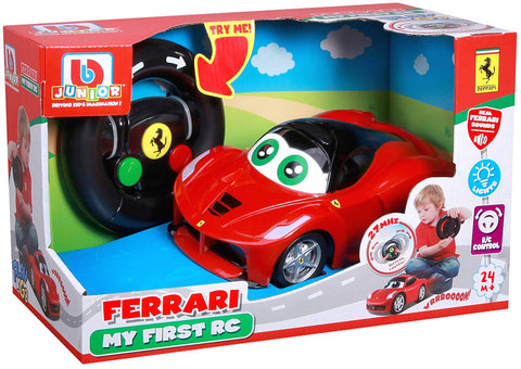 Bburago Junior FERRARI MY FIRST R/C LaFerrari - Wild Willy - Toys Lebanon