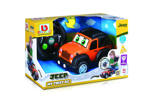 Bburago Junio MY FIRST R/C Jeep Wrangler - Wild Willy - Toys Lebanon