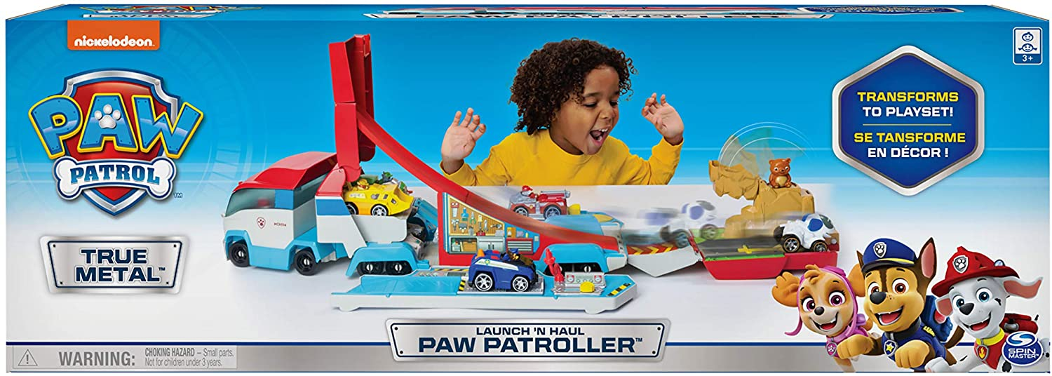 SPM PAW PATROL LAUNCH & HAUL PATROLLER 3+ TC16785 - Wild Willy - Toys Lebanon