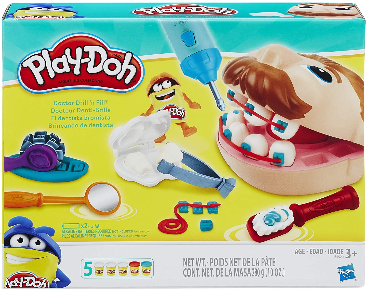 Play-Doh Doctor Drill 'n Fill Set - Wild Willy - Toys Lebanon