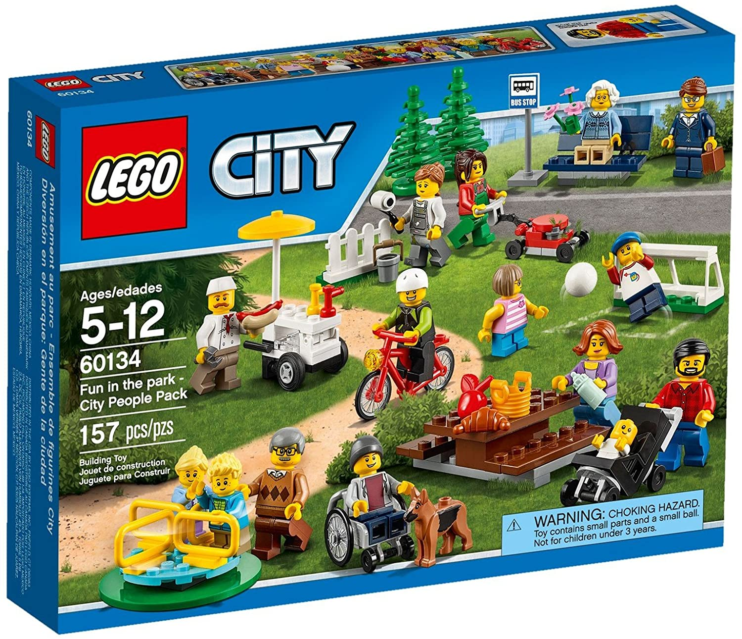 LG CITY - FUN IN THE PATK-CITY PARK (60134) - Wild Willy - Toys Lebanon