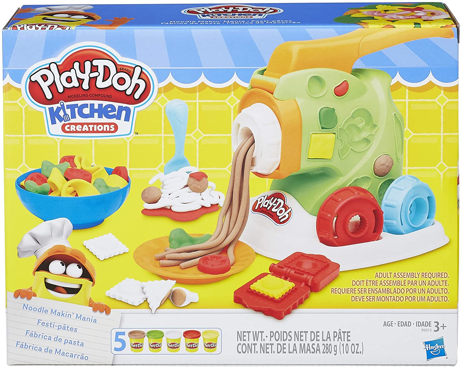 Play-Doh - Kitchen Creations Noodle Makin' Mania - Wild Willy - Toys Lebanon