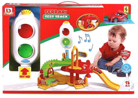 Bburago Junior Ferrari Test Track - Wild Willy - Toys Lebanon