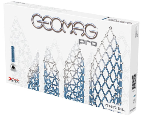 Geomag PRO METAL 140PCS - Wild Willy