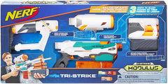HB NERF N-STRIKE MODULUS TRI-STRIKE RB5577 - Wild Willy - Toys Lebanon
