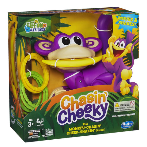 Hasbro CHASIN' CHEEKY 3+ 2PLAYERS - Wild Willy - Toys Lebanon