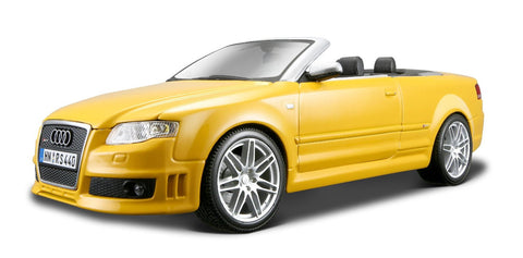 Maisto Audi Rs4 Cabrio 1:18 - Wild Willy