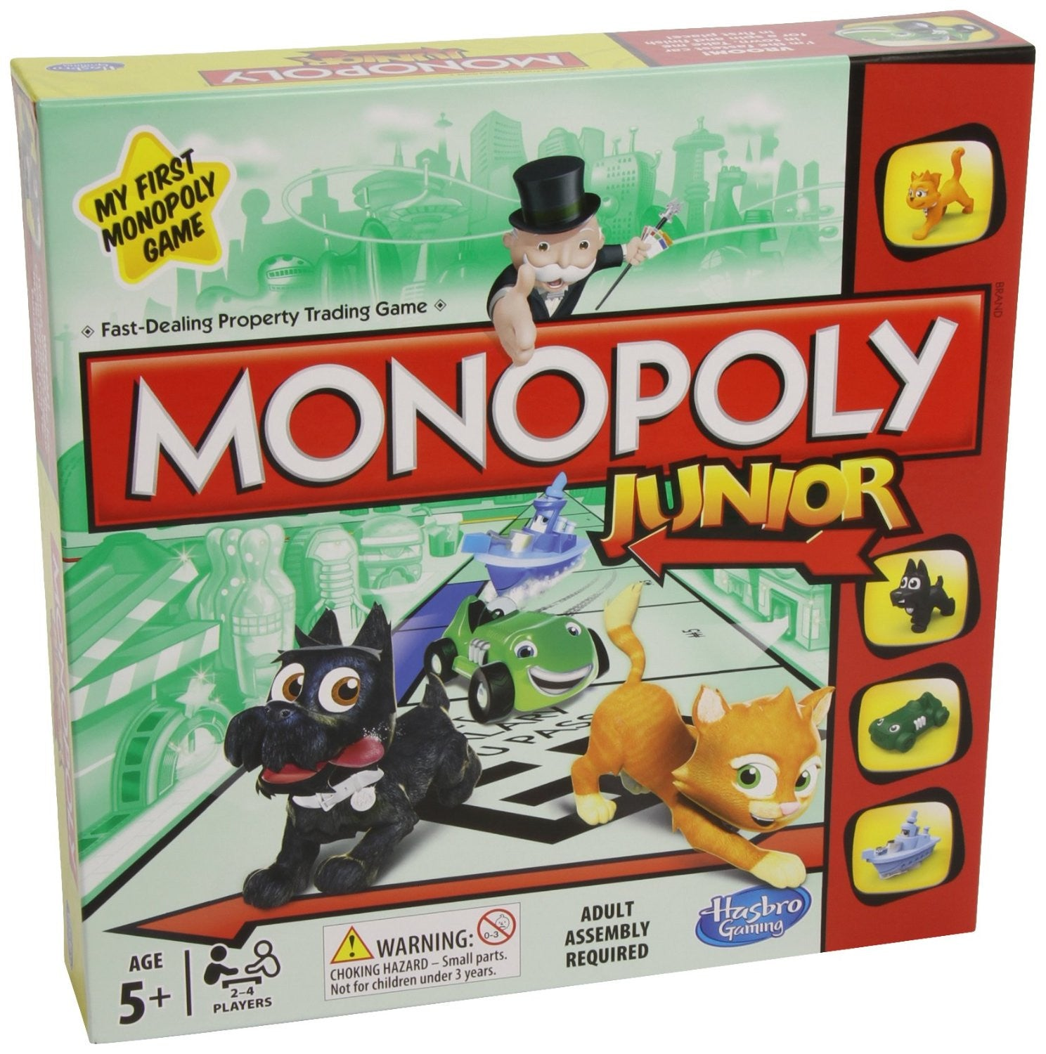 Hasbro MONOPOLY JUNIOR 5Y+ - Wild Willy