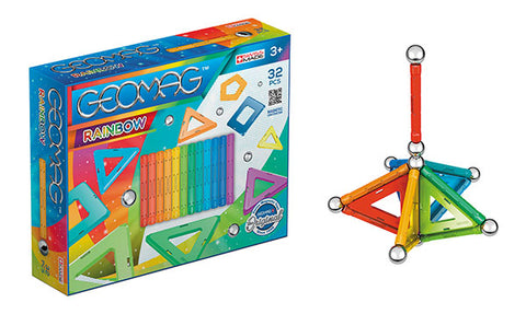 Geomag RAINBOW 32 PCS GM370 - Wild Willy - Toys Lebanon