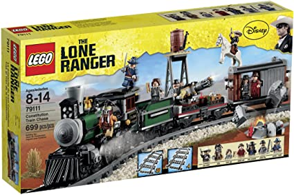 LG LONE RANGER CONSTITUTION TRAIN CHASE 8-14Y ( LG79111 ) - Wild Willy - Toys Lebanon