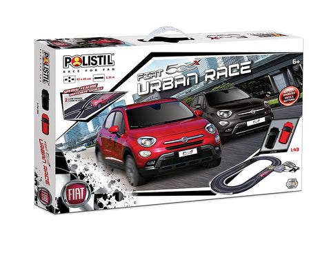 Polistil URBAN RACE SET FIAT 500X 6+ 92cmx55cm - Wild Willy - Toys Lebanon