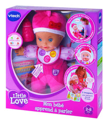 Vtech Poupon - Little Love - Mon Bébé Apprend À Parler - Wild Willy
