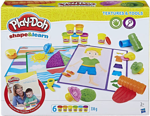 Play-Doh Shape and Learn Textures and Tools - Wild Willy - Toys Lebanon
