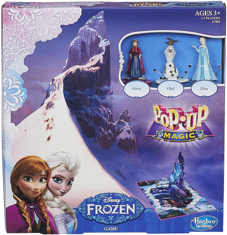Hasbro Disney Pop-Up Magic Frozen Game - Wild Willy - Toys Lebanon