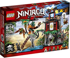 LG NINJAGO TIGER WINDOW ISLAND (70604) - Wild Willy - Toys Lebanon