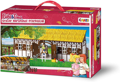 CRAZE Bibi and Tina BIBI & Tina Large Martinshof Horse Riding Stable - Wild Willy - Toys Lebanon