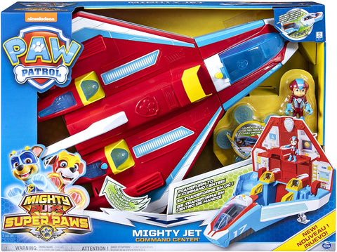SPM PAW PATROL MIGHTY JET COMMAND CENTER 3+ 6053098 - Wild Willy - Toys Lebanon
