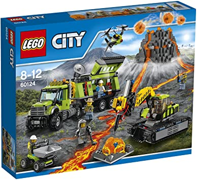 LG CITY - VOLCANO EXPLORATION BASE (60124) - Wild Willy - Toys Lebanon