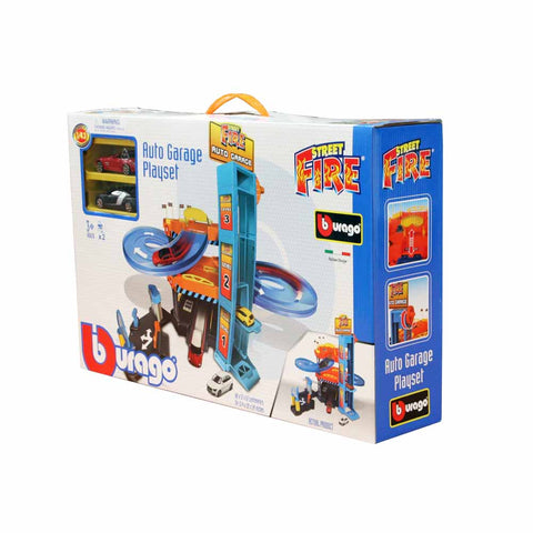 BU STREET FIRE AUTO GARAGE ( BU30361 ) - Wild Willy - Toys Lebanon