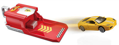BU FERRARI RACE & PLAY CAR LAUNCHER 1:64 - Wild Willy - Toys Lebanon