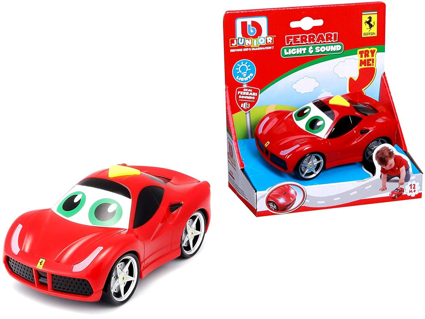 Bburago Junior FERRARI LIGHT & SOUNDS 488 GTB - Wild Willy - Toys Lebanon