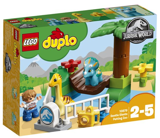 LG DUPLO GENTLE GIANTS PETTING ZOO 10879 2-5 - Wild Willy - Toys Lebanon