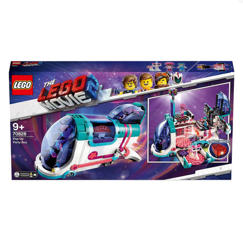LG THE LEGO MOVIE 2 POP-UP PARTY BUS 9+ LG70828 - Wild Willy - Toys Lebanon