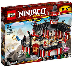 LG NINJAGO LEGACY MONASTERY OF SPINJITZU 70670 - Wild Willy - Toys Lebanon